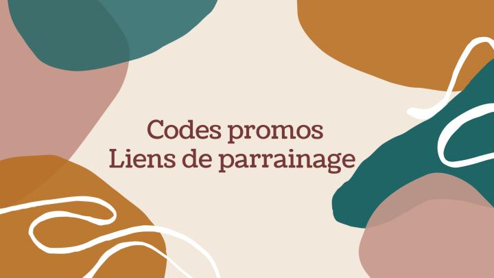 Codes promos etparrainages